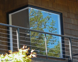 Frank Lloyd Wright Inspired Corner Window