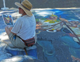 Chalk & Pavement Street Artist Cheryl Renshaw