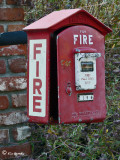 Custom _ Fire Call Box Mailbox (2 shots)