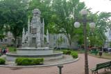 Fountain on Place d' Armes