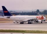 TAM Airbus A330-200 PT-MVC Very old colour scheme