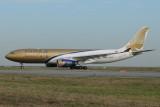 Gulf Air Airbus A330-200 A9C-KC Bahrain Air Show