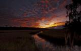 Autumn Sky over Pocotaligo Marsh