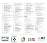 Race Listings & Sponsors