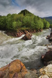 Kishi1 rapid on Belaya river