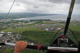 View from hang glider
