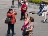 Madrid: Tomando la foto / Taking the picture