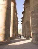 Luxor Temple columns