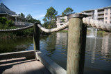 Fishing dock at the lagoon