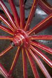 Flower cart wheel