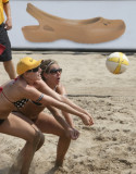 2008 AVP Crocs   Volleyball Tour: Brooklyn NYl...Kerri Lee Walsh and Misty May-Treanor going to Beijing