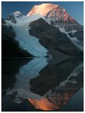 Mt. Robson Early Morning Reflection
