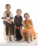 Oct. 20, 2008 - Three kids in a row