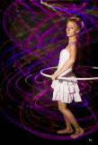Hula Hoop  Artist Rita Riggs