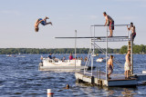 July 5, 2008 - Diving on Portage Lake