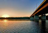 Sunset At The Bridge