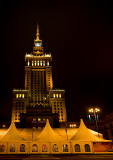 Warsaw At Night