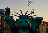 Statue Of Liberty With Lanterns