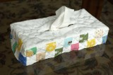 Tissue box case for my niece 2008 summer