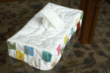 Tissue box case for my niece