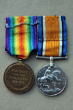 Obverse of Lawrences medals