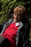 Ruth at Arduaine Gardens