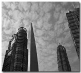 new shanghai... lujiazui skyscrapers