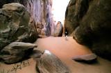 A little walk to a hidden rock ...