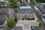 Town Hall - birds eye view.