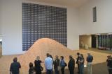 de Young Museum--Maya Lin's 2x4 Landscape & Gerhard Richter's Strontium