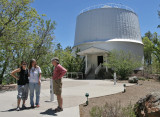 Scoping out a spot for the Burnham Memorial @ Lowell Observatory