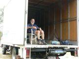 Rob on his throne (Mick Jackes)