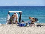 Film Crew at Tanga Beach