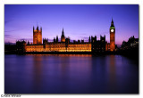 Houses of Parliment after Sunset