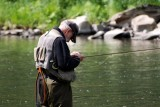 Fly fishing - tying the lure...