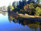 Scenic view near Sooke (T'sou-Ke), Vancouver Island