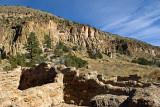 Bandelier Park ruins