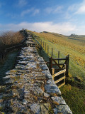 Hadrian's Wall,remains of.