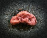 chicle de fresa sin pisar