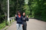Dao and Chieko in Hakone