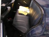 New matching blue seat back - yay!