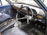New steering wheel and dash top