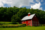 Red Barn in Holden Vermont