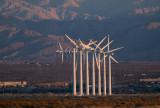 Wind turbines, Palm Springs