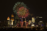 FIREWORKS AT GREAT AMERICAN BALLPARK