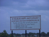 Church Signs and other life in Kansas