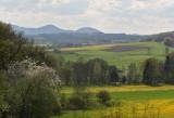 České středohoří ,low mountain range
