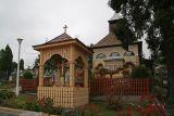 entrance to graveyard in Medias