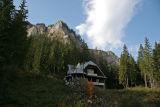 near Bicaz in Carpathian Mountains