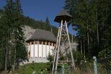 new church and clocktower